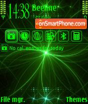 Greenneon v2 es el tema de pantalla