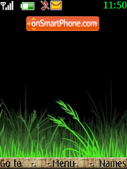 Grass es el tema de pantalla