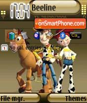 Toy Story 2 es el tema de pantalla