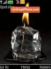 Ice in Fire theme screenshot