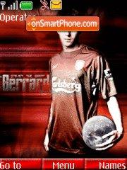 Stiven Gerrard theme screenshot