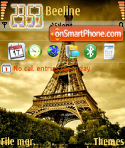 Eiffel 02 theme screenshot