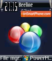 Vista Balls theme screenshot