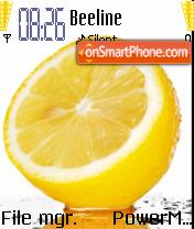 Lemon Fresh es el tema de pantalla