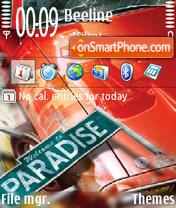 Burnout Paradise 01 theme screenshot