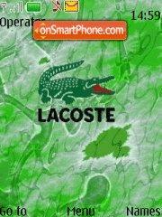 Lacoste theme screenshot