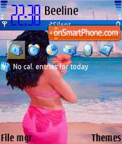 Waiting For You theme screenshot