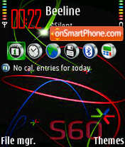 S60 color theme screenshot