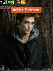 Robert Pattinson theme screenshot