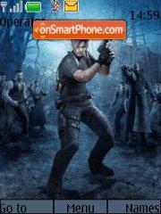 Resident Evil 4 03 es el tema de pantalla