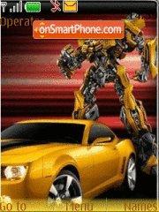 Transformers Bumbleb es el tema de pantalla