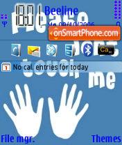 Please Dont Touch Me es el tema de pantalla