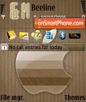 B Apple 3250 es el tema de pantalla