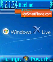 Windows Livex theme screenshot