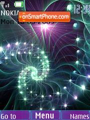 Swf spiral animated theme screenshot