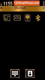 Gold&Bronze theme screenshot