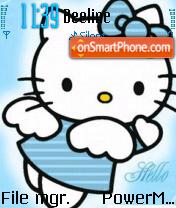 Hello Kitty Fairy theme screenshot
