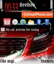 Audi r8 v4 01 es el tema de pantalla