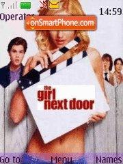 The girl next door es el tema de pantalla
