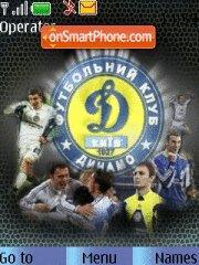Dinamo Kiev theme screenshot