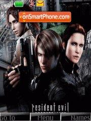 Resident Evil 09 theme screenshot