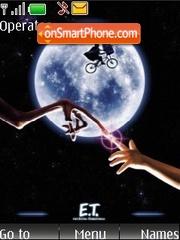 E.T. the Extra-Terrestrial es el tema de pantalla