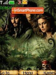 Pirates of the Caribbean 2 theme screenshot
