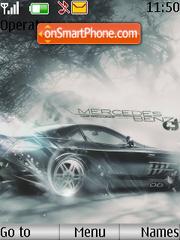 Mercedes Benz es el tema de pantalla