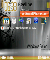 Windows7 03 es el tema de pantalla