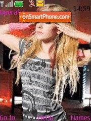 Avril Lavigne(Abbey Dawn) theme screenshot