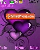 Purple Hearts 2 theme screenshot