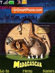 Madagascar theme screenshot