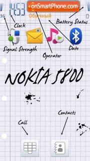 Nokia 5800 Basic theme screenshot