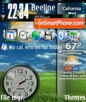 Static Vista theme screenshot