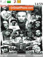 Hiphop tema screenshot