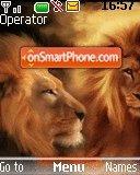 Lion King 03 theme screenshot