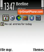 Greys theme screenshot