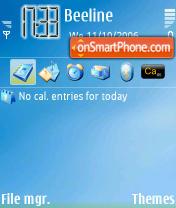 Win XP theme screenshot