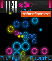 Neon theme screenshot