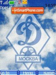 Dinamo Moskow theme screenshot