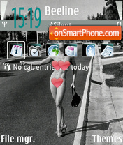 Madonna theme screenshot