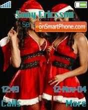 Christmas Girls es el tema de pantalla