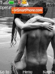Couple in water theme screenshot