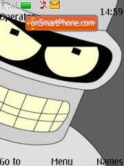 Futurama theme screenshot