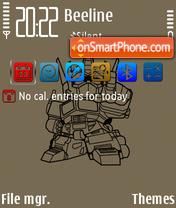 Transformer FP1 es el tema de pantalla