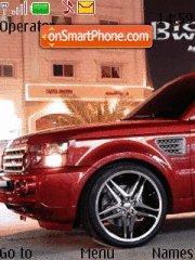 Range Rover Sport theme screenshot