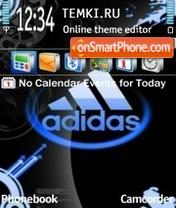 Adidas 32 es el tema de pantalla