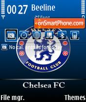 Chelsea fc 04 theme screenshot