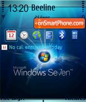 Windows 7 Fp1 theme screenshot