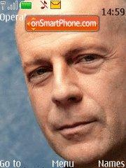 Bruce Willis theme screenshot